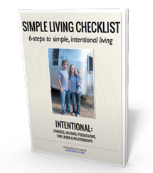 Simple Living Checklist